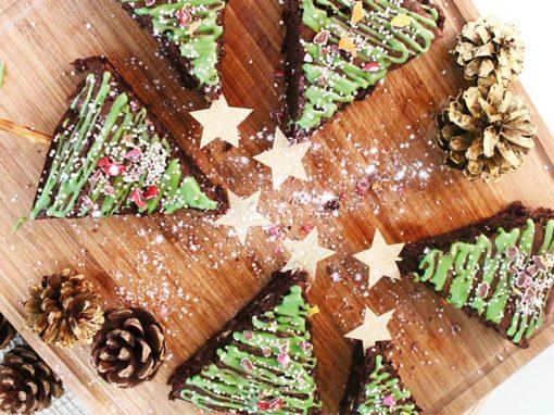 Brownie jólatrø